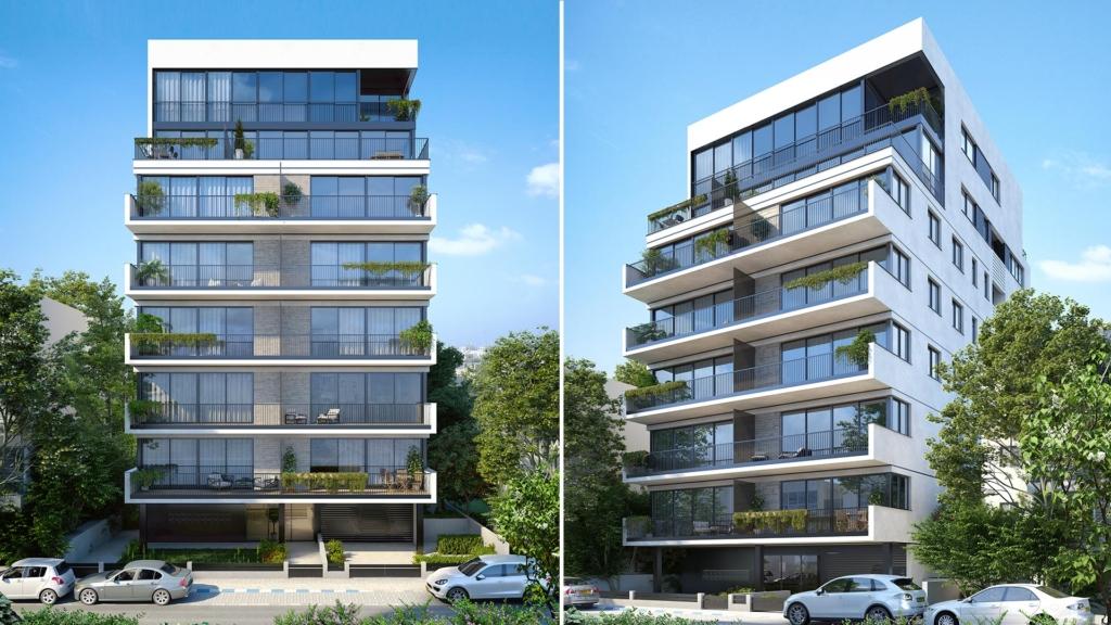 הדמיה של בניין