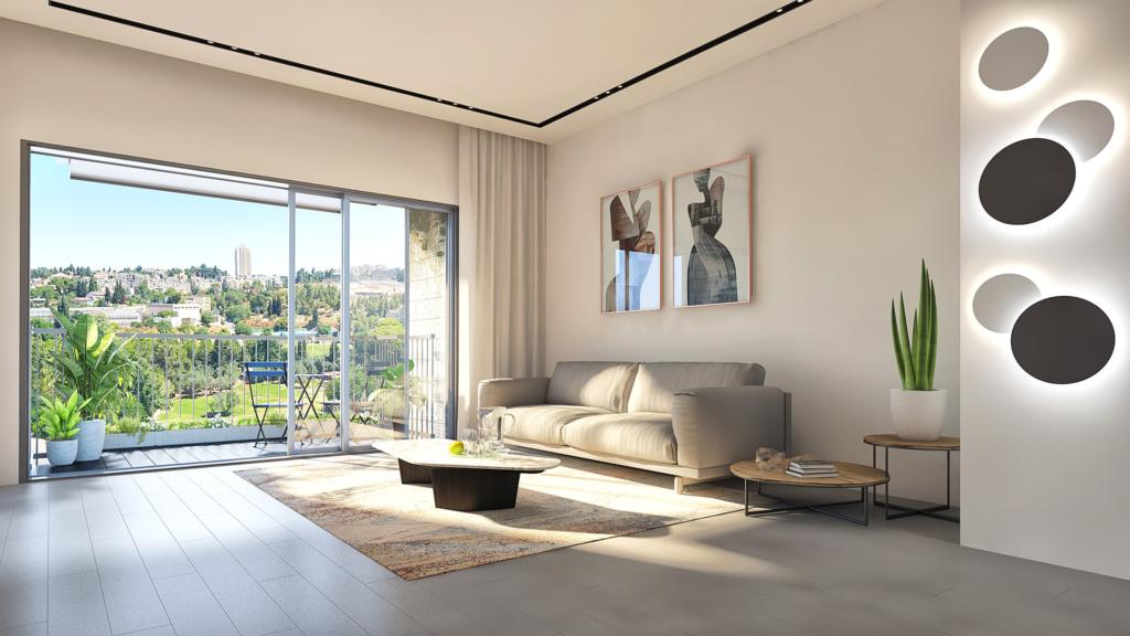 הדמיית פנים של דיור מוגן