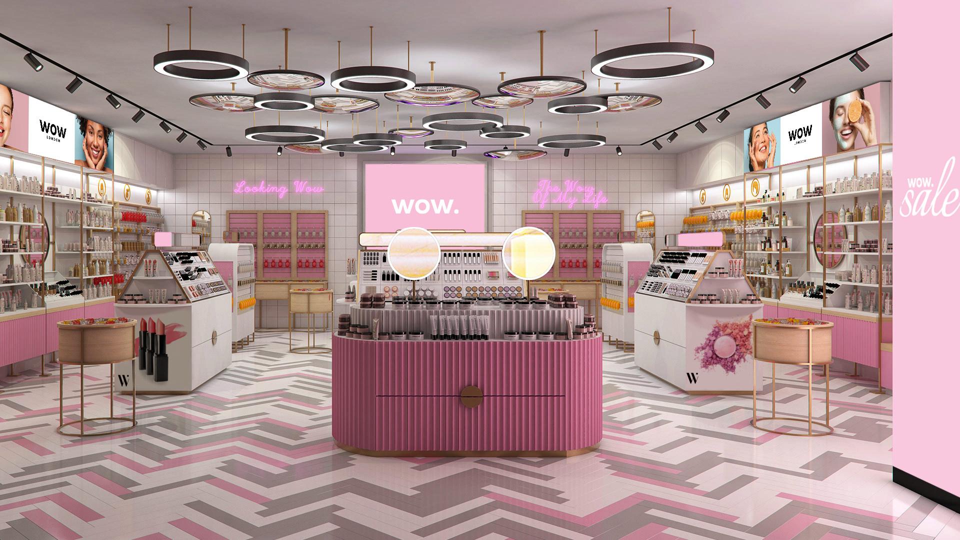 הדמיה של חנות וואו